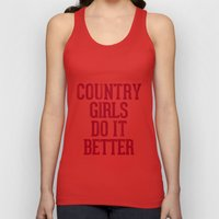 Country Girls Do it Better Unisex Tank Top