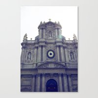 Eglise Saint Paul, Le Ma… Canvas Print