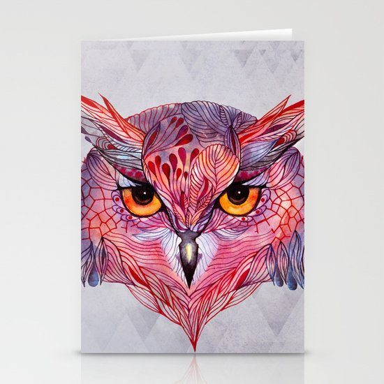 Owla owl Stationery Card