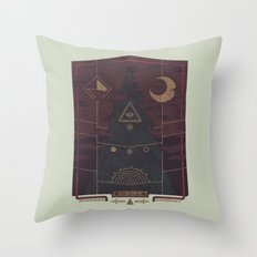 Mount Death Throw Pillow