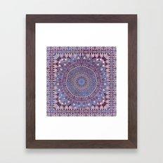 BOHO MANDALIKA Framed Art Print