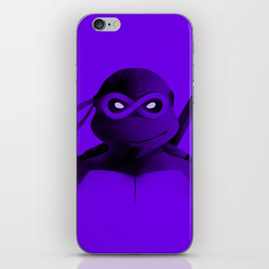 Donatello Forever iPhone & iPod Skin