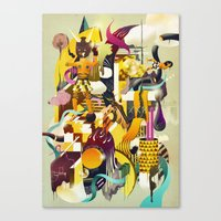MOTOR Canvas Print