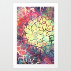 The Web - for iphone Art Print