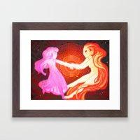 In Agreement Framed Art Print