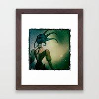 The Lion Tamer Framed Art Print