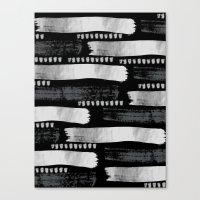 Brush Strokes #1 Canvas Print