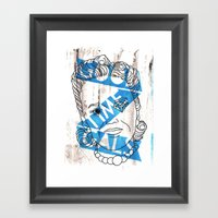 GOOD TIME GALS Number 3 Framed Art Print