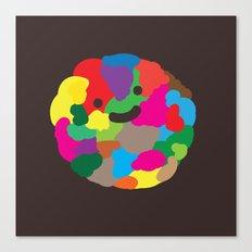 happy colour ball Canvas Print