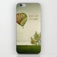Never Stop Exploring ( A… iPhone & iPod Skin