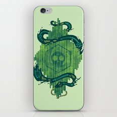 Green is the Color of Death iPhone & iPod Skin