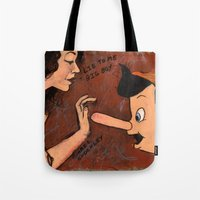 LIE TO ME BIG BOY Tote Bag
