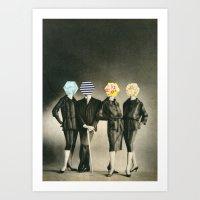 Modern Fashion Art Print