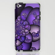 Perplexity Of Purple iPhone & iPod Skin
