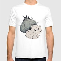 Plant Dude Mens Fitted Tee White SMALL
