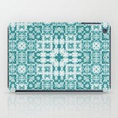 Aquatica Teal Kaleido iPad Case