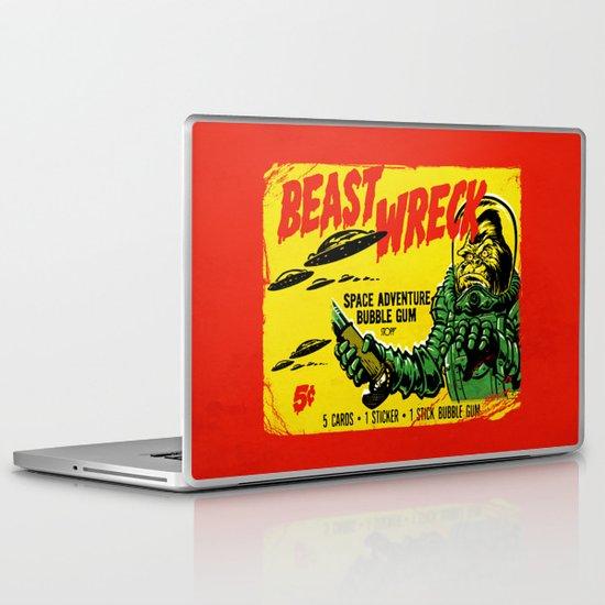 BEASTWRECK ATTACKS! Laptop & iPad Skin