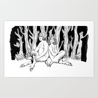 Hooligans Art Print