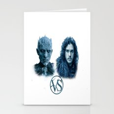 SNOW VS THE WHITE WALKER Stationery Cards