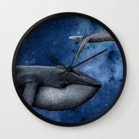 The Whale Who Met  Itself. Wall Clock
