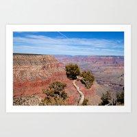 Grand Canyon Twisted Pin… Art Print