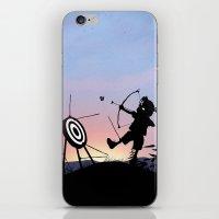 Hawkeye Kid iPhone & iPod Skin