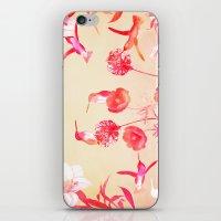 Hummingbirds In The Gard… iPhone & iPod Skin