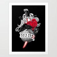 DeathStar Art Print