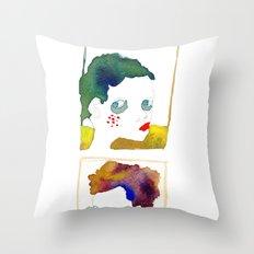 no name but a frame Throw Pillow