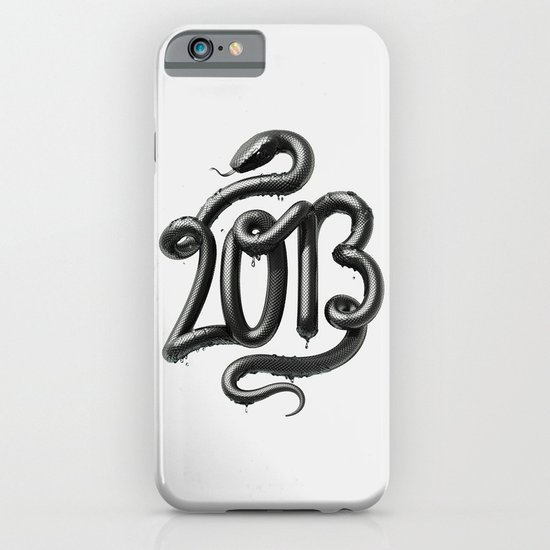 2013 - Year of the Black Water Snake iPhone & iPod Case