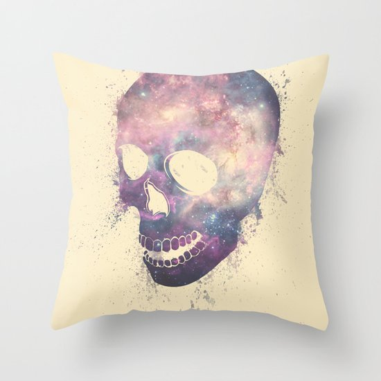 Mad To Live Throw Pillow