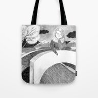 Tote Bag featuring All Your Sorrows by Marjanne Mars