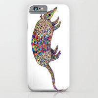iPhone & iPod Case featuring armadillo by Federico Faggion
