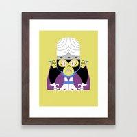 Mojo Jojo Framed Art Print