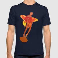 You Should Treat Your Mu… Mens Fitted Tee Navy SMALL