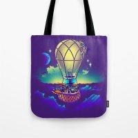 Light Flight Tote Bag