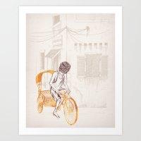 Sam Art Print
