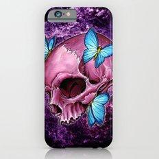 pink skull iPhone 6s Slim Case