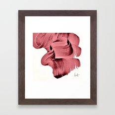 Marsala Abstract Framed Art Print
