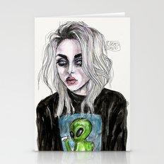 Frances bean cobain no,6 Stationery Cards