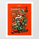Pyranha Party Art Print