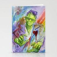 Friend Frankenstein Stationery Cards