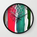 Color Forest Wall Clock
