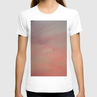 Pink Mist Womens Fitted Tee White SMALL