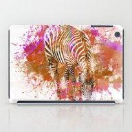 Crazy Zebra II iPad Case
