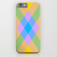 iPhone Cases featuring Tartan Pattern 8 by Latidra Washington
