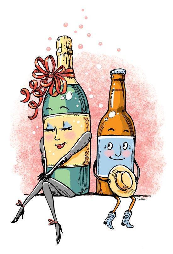 Bottled Romance Art Print