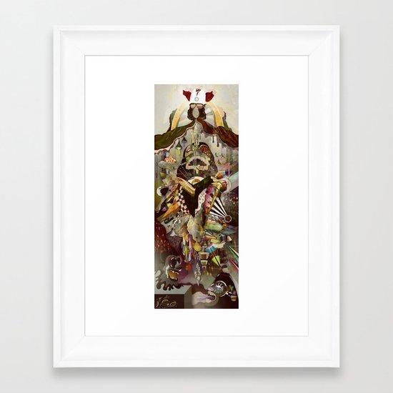 Heaven & Hell Framed Art Print