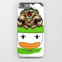 King Koopa & His Clown Car iPhone 6 Slim Case