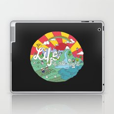 Life is All Right (Color) Laptop & iPad Skin